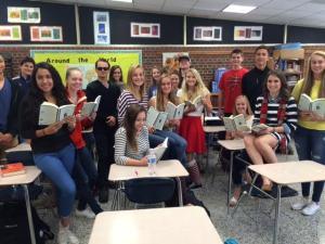 Agee's AP English class